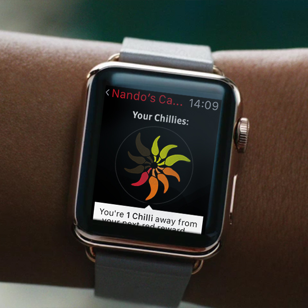Nando's - Apple Watch App